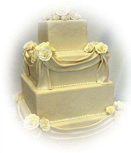 Wedding Cake: Stacked Wedding Cake