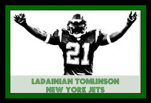 NFL NY Jets - LaDainian Tomlinson #21