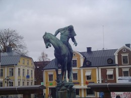 Statue in the town square