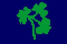 Flag of the Irish Cricket