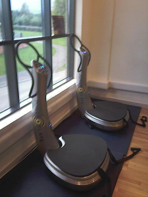 2 Power Plate Machines