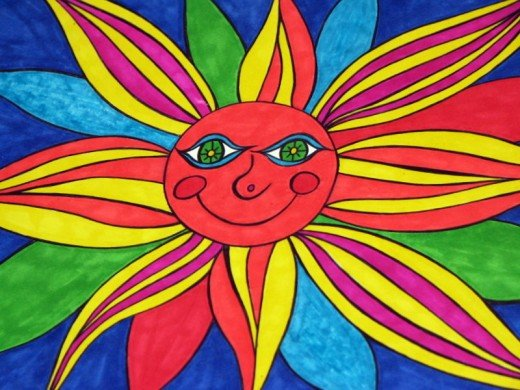 Sunshine Artwork by Windy Mason.