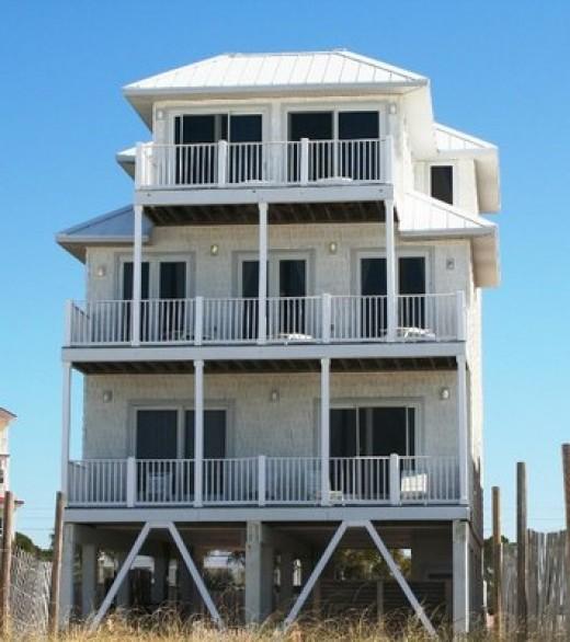 Panhandle Beach House Rentals: Great Beachfront Rentals: Florida Panhandle