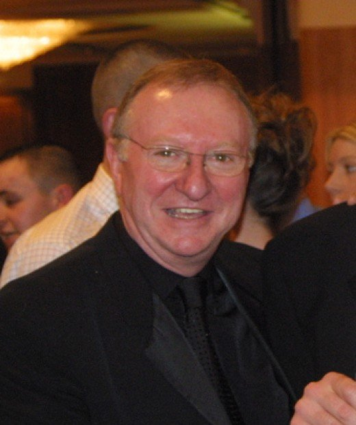 Dennis Taylor - Former Snooker World Champion from Northern Ireland