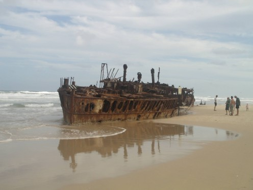 SS Maheno - rust never sleeps