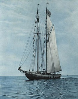 The Bluenose I - photo from commons.wikimedia.org