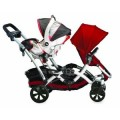 duoble stroller with car seat