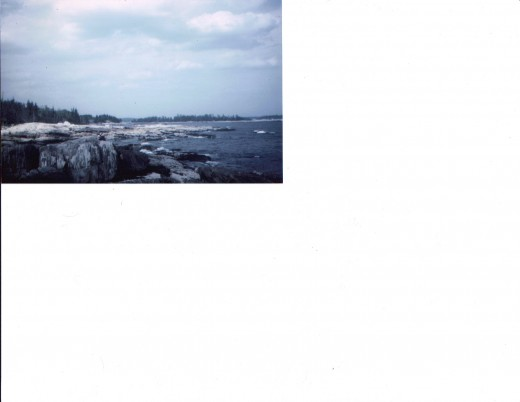 Coastline, Ocean Point