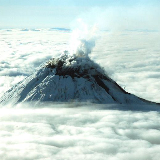 Ash or lava type volcanoes are dangerous when they melt vast amounts of accumulated glacial ice and snow.