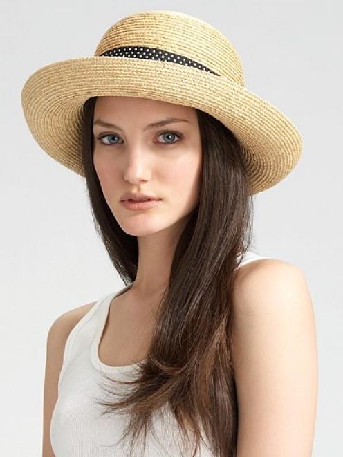 Helen Kaminski raffia hat