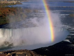 Rainbow over Niagara Falls photo from webshots.com