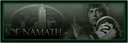 Hall of Fame QB - NY Jets Joe Namath on Hubpages