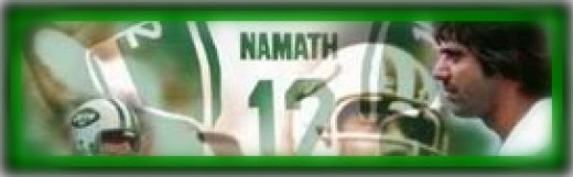 Joe Namath #12 NY Jets Hall of Fame Quarterback on Hubpages