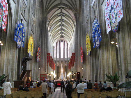 Inside the Cathdrale