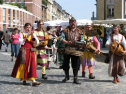 Medieval Costumed procession