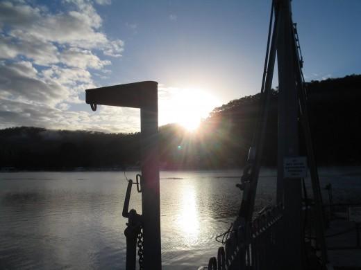 Ferry No. 8. copyright H Morris