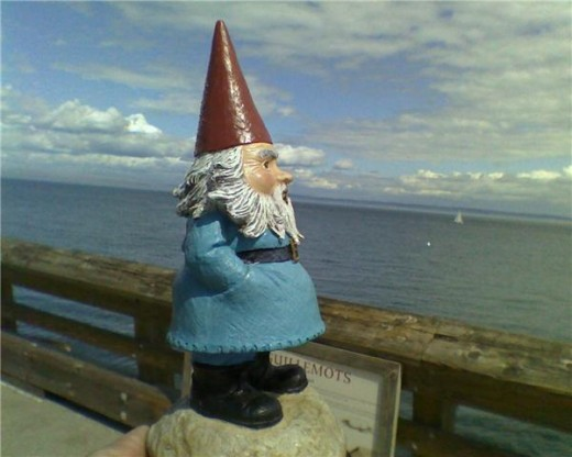 Pics Photos - Travelocity Gnome Just Because Everyone Should Own One