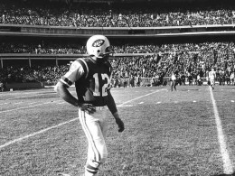 Sunday, Jan. 12, 1969 Orange Bowl, Miami (Photo newyorkjets.com) #12 Joe Namath
