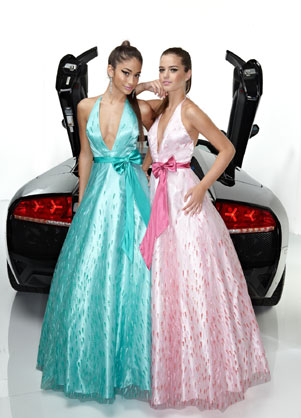 Prom Dress: Davinci Prom Dress Style 1324 Fabric : Tulle