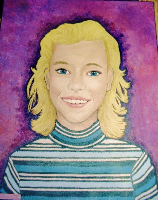 A portraitb of Sarah's best friend