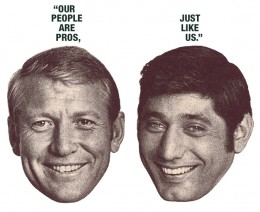 Mickey Mantel And Joe Namath Open an Employment Agency 1968
