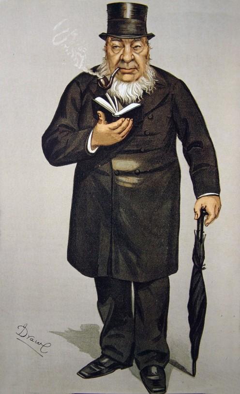 Vanity Fair cartoon of Paul Kruger. Image from Wikipedia