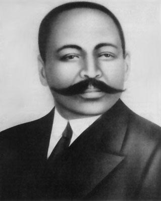 John Langalibalele Dube (1871 - 1946). Image from the ANC website.