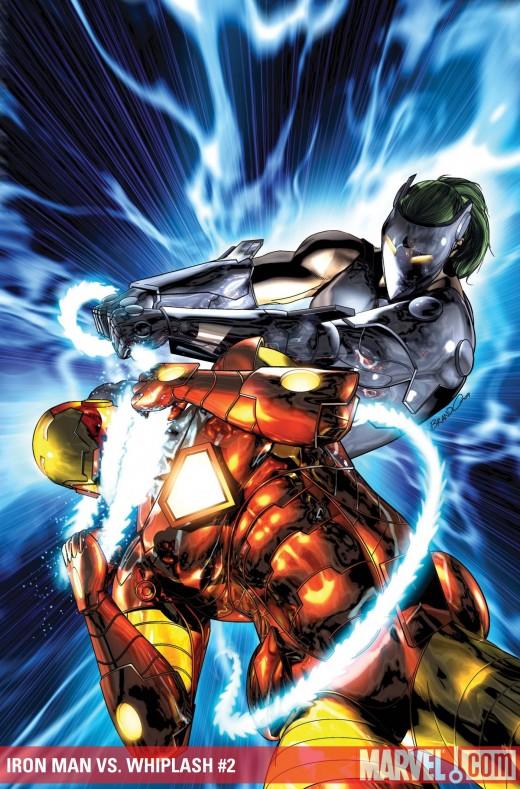 whip lash vs. iron man