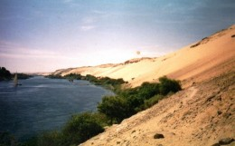 Aswan before the dam