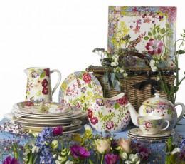 Hand painted tableware