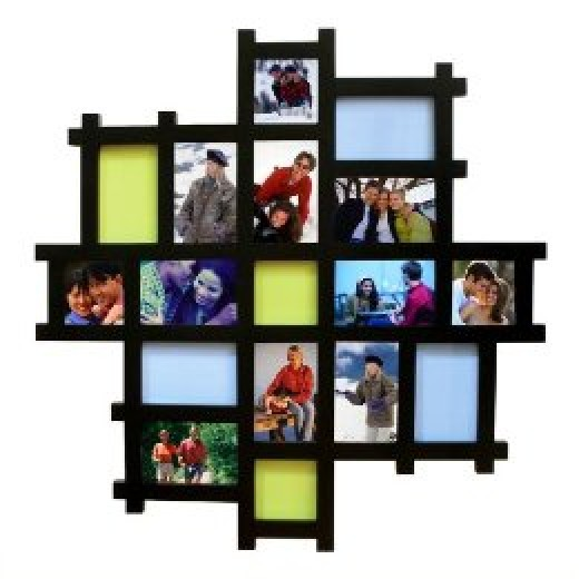 Large collage picture frames on pinterest collage for How to make a large picture frame
