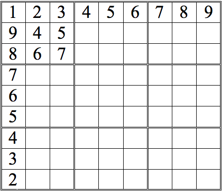 Probably not a workable grid--but it shows the basic rules.