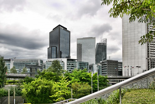 La Defense business center in Paris