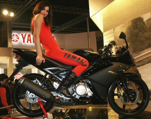 YZF-R15 at 2008 Auto Expo