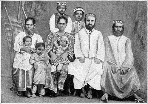 The first Jews to settle in Cochin, 2,500 years ago were the Cochin Jews.
