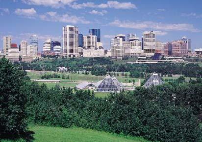 6) Edmonton, Alberta