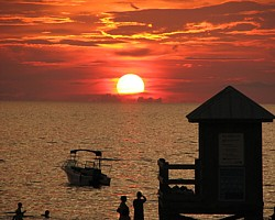 Being part of a sunset at Pier 60 is one reason to visit Clearwater Beach, it's beautiful and fun.