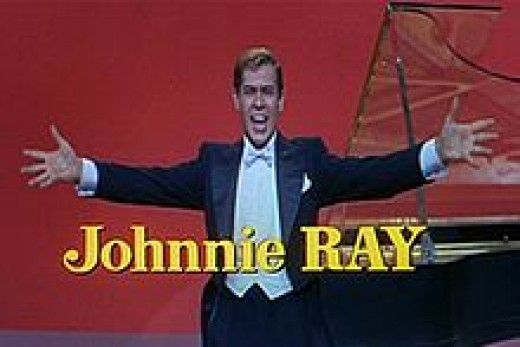 Johnnie Ray, courtesy of wikipedia