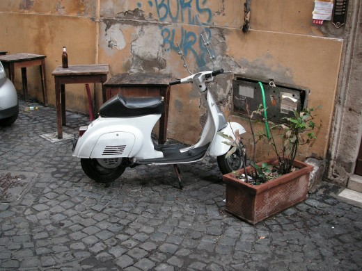 Vespa - best way to move about town