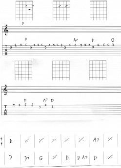 Guitar Tab - basic tab lesson