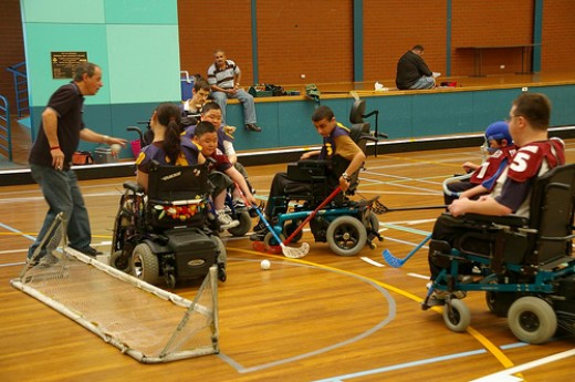 Many sports can be played from wheelchairs