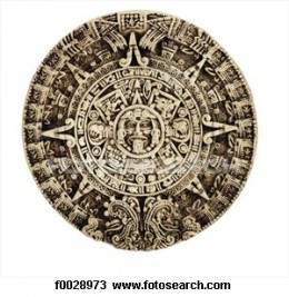 The Sun stone, was a calendar system shared by the Maya and Aztecs and is one of the most ancient and accurate.