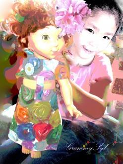 Why do little girls love dolls?