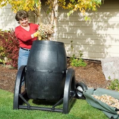 Urban Composting Tumbler