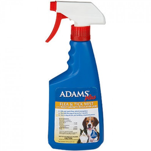 Adams Flea & Tick Mist with Insect Growth Regulator $12.99