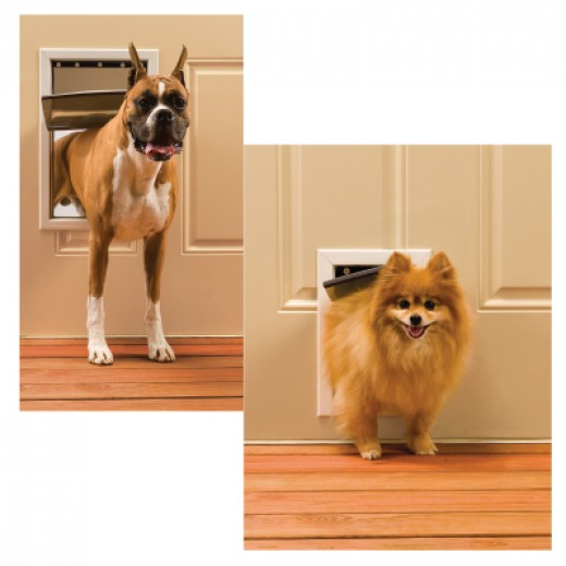 PetSafe Freedom Aluminum Pet Door $109.99