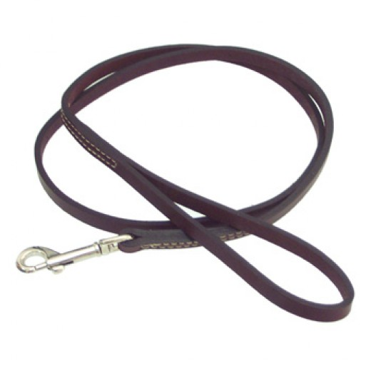 PETCO Leather Leads in Mahogany $21.97