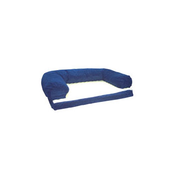 Caddis Pet Poly-Suede Beasley's Couches in Blue $101.99