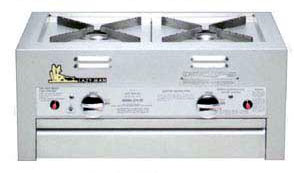 Lazyman 210-30 side by side built in double side burners