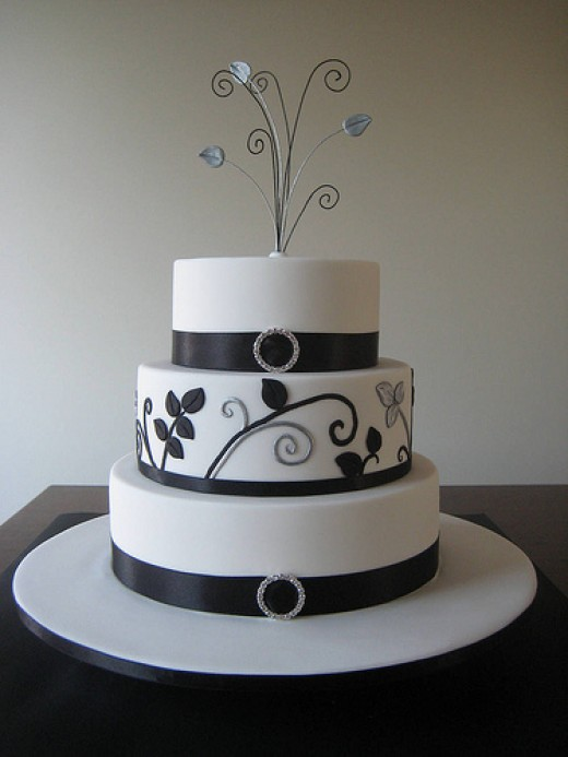 simple black and white wedding. Black and White Wedding Favors